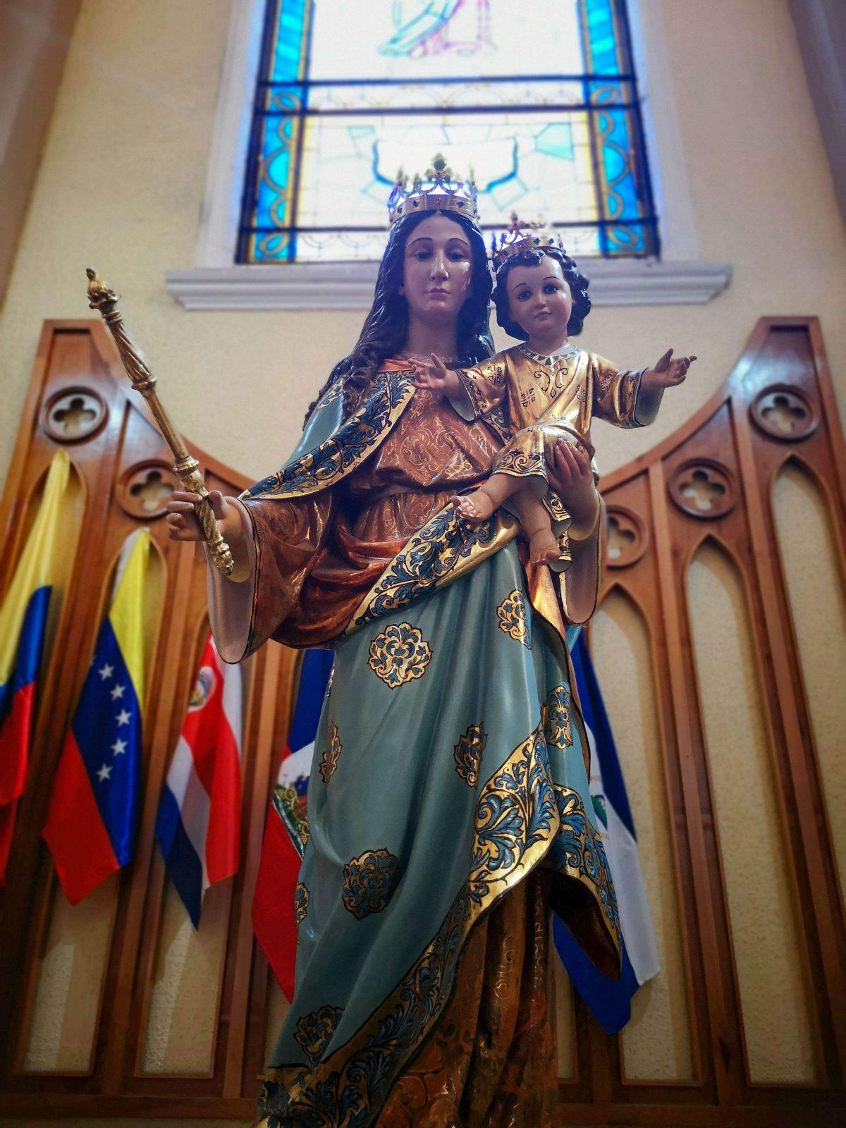 Virgen María Auxiliadora Santiago