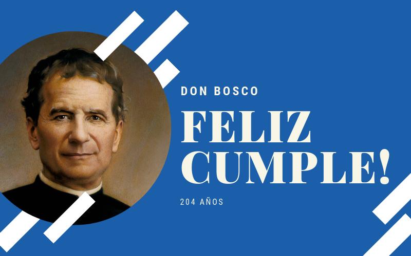 Cumpleaños de Don Bosco